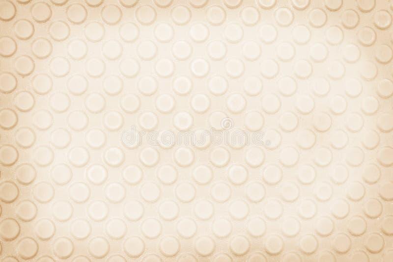 Fond abstrait de modèles convexes sans couture de cercle, brun clair photo libre de droits