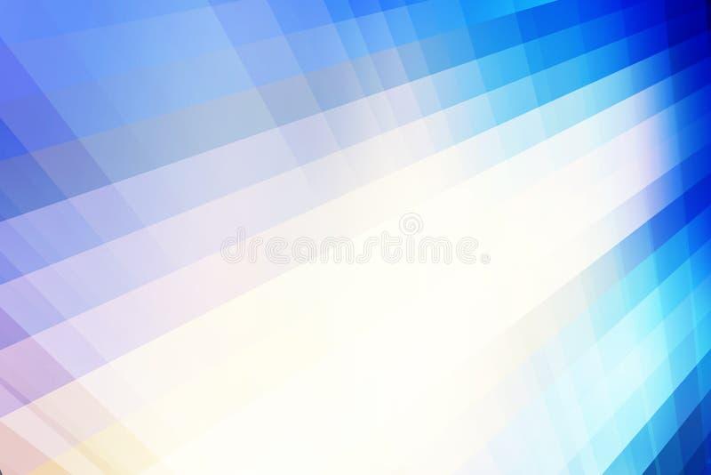 Fond abstrait de mouvement de perspective illustration de vecteur