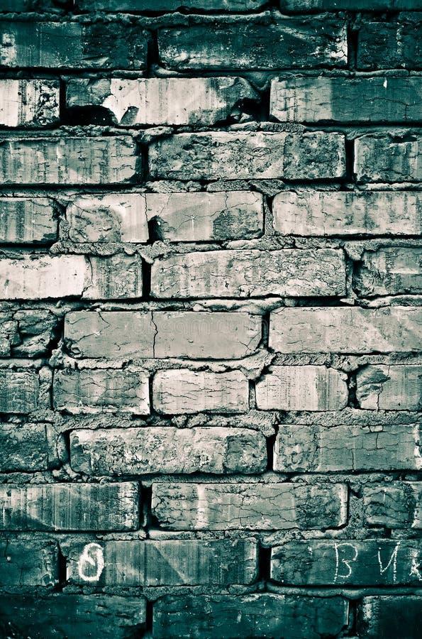 Fond abstrait de mur de briques image libre de droits