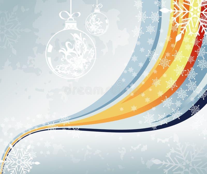 Fond abstrait de Noël illustration de vecteur