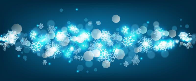 Fond abstrait de Noël illustration libre de droits