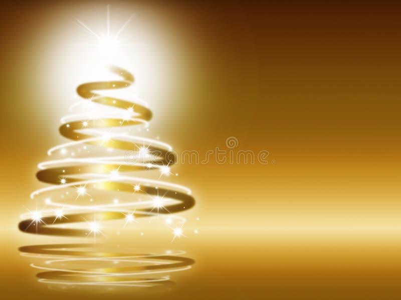 Fond abstrait de Noël trois image libre de droits