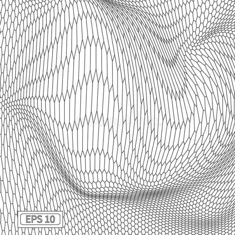 Download Fond Abstrait De Paysage De Vecteur Grille De Cyberespace Illustration De La Technologie 3d Illustration de Vecteur - Illustration du géographie, configuration: 77152385