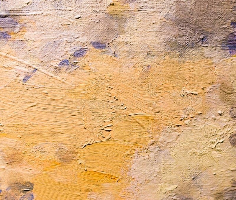 Fond abstrait de peinture à l'huile sur la toile image libre de droits
