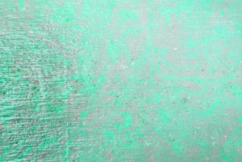 Fond abstrait de peinture de couleur verte de texture en bois de mur photo stock