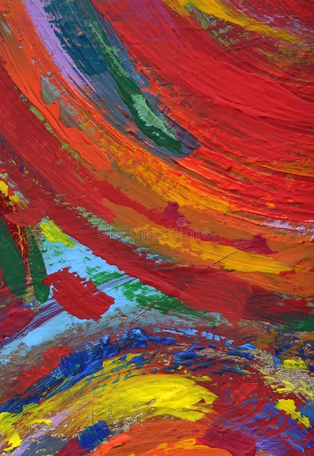 Fond abstrait de peinture de texture illustration stock