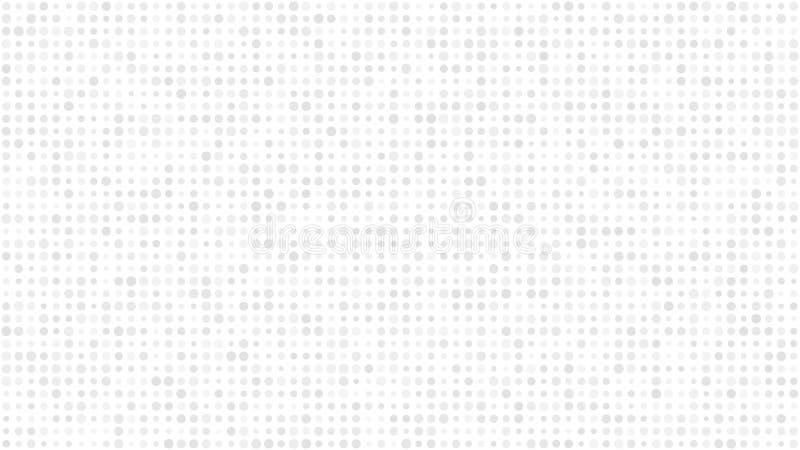 Fond abstrait de petits cercles illustration de vecteur
