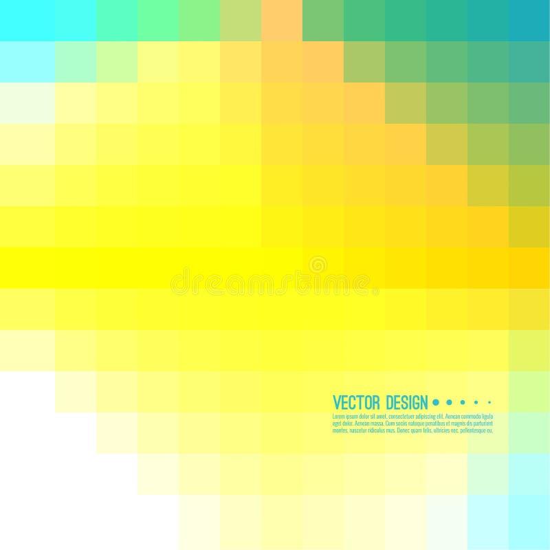 Fond abstrait de Pixel illustration de vecteur