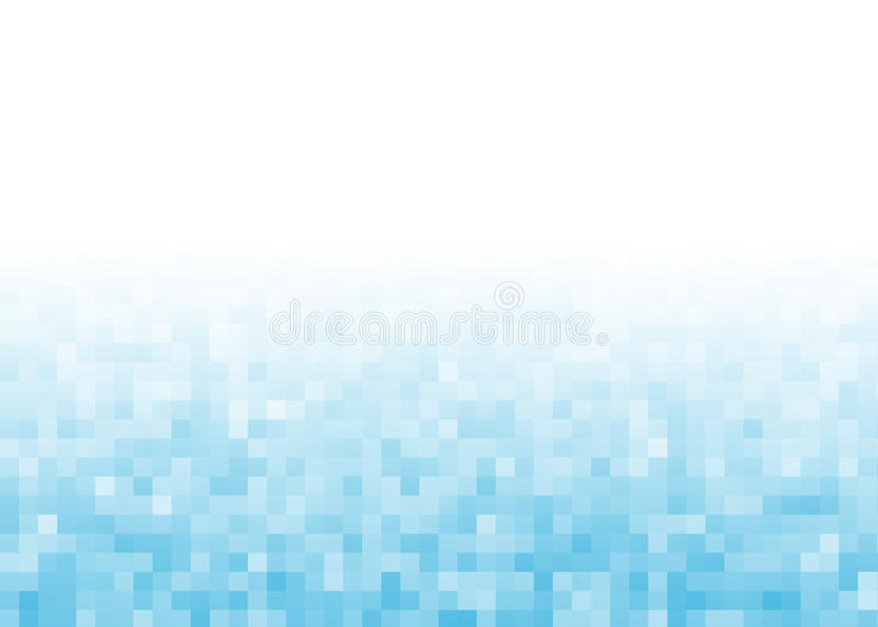 Fond abstrait de pixel de gradient illustration libre de droits