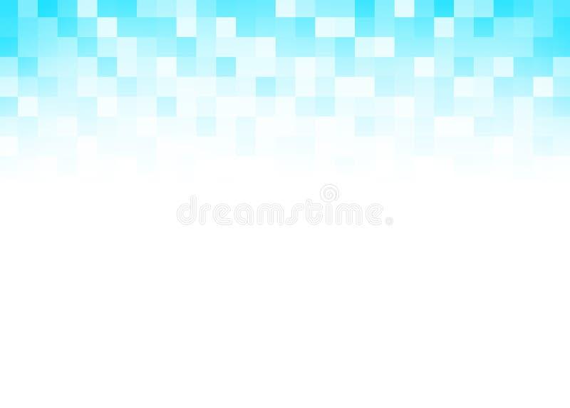 Fond abstrait de pixel de gradient illustration stock