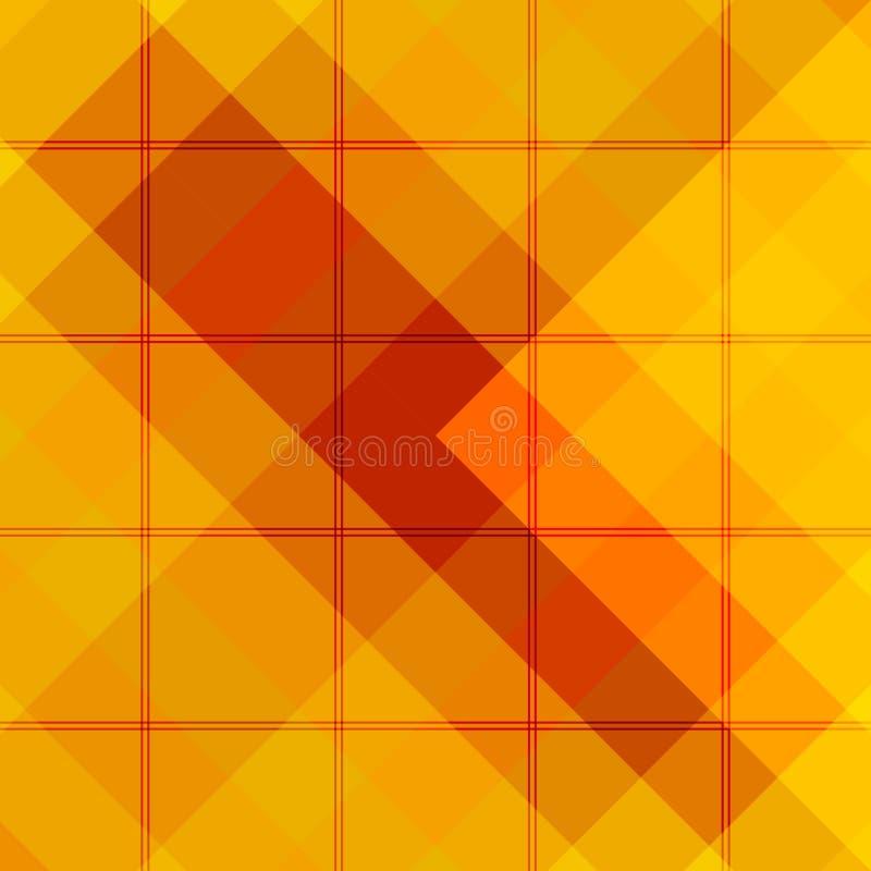 Fond abstrait de plaid illustration de vecteur