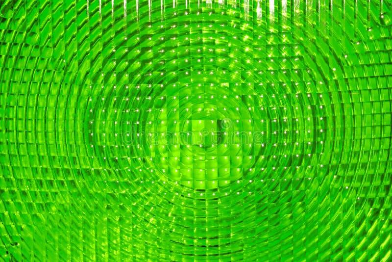 Fond abstrait de plastique facetté par vert photos stock