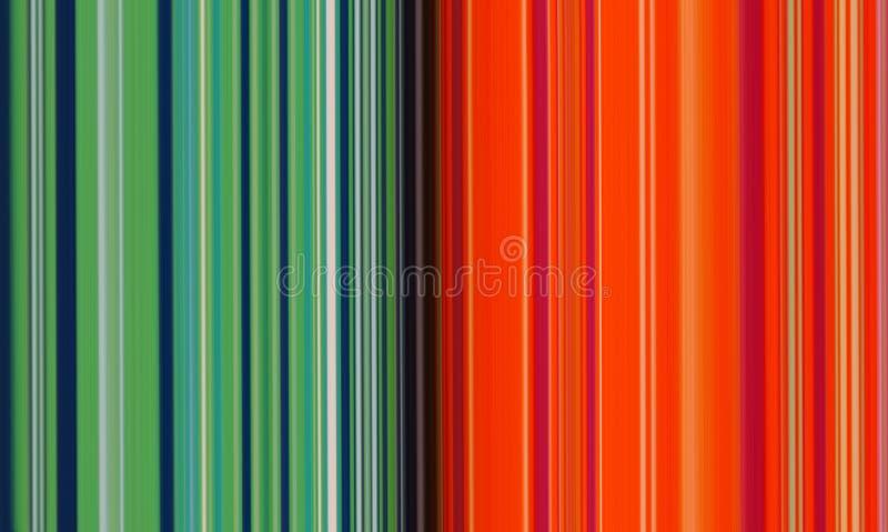 Fond abstrait de pointe multicolore vert et rouge conceptuel de texture illustration de vecteur