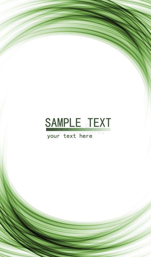 Fond abstrait de pointe vert illustration de vecteur