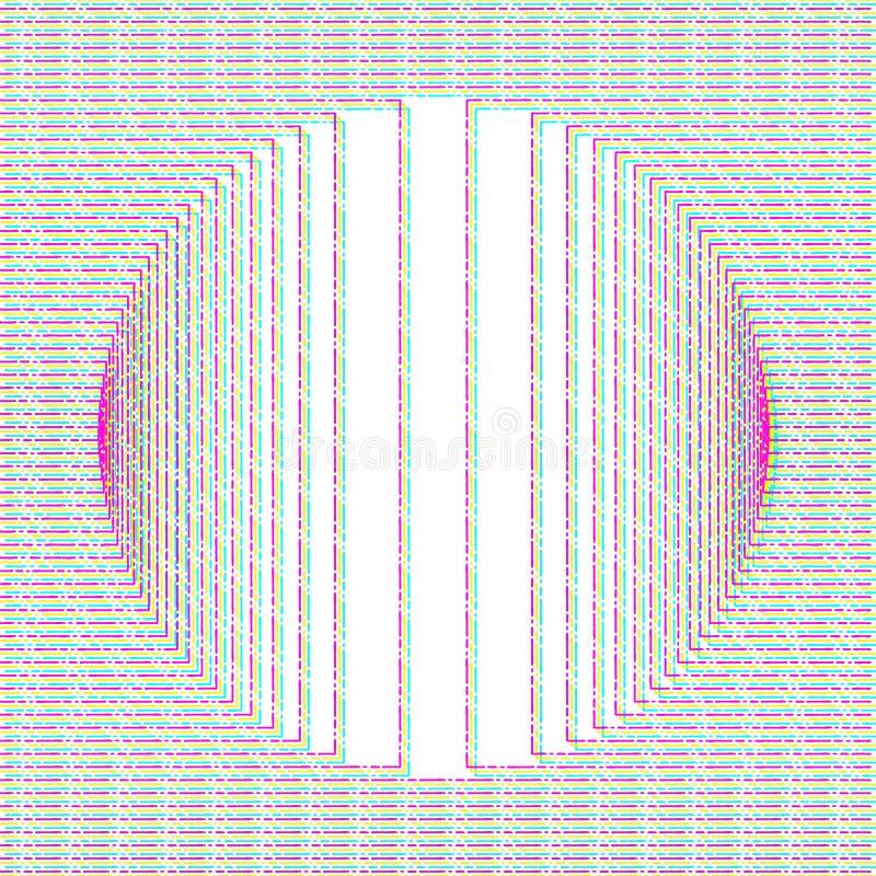 Fond abstrait de problème illustration de vecteur