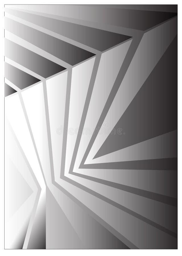 Fond abstrait de réflexion Illustration de vecteur illustration de vecteur