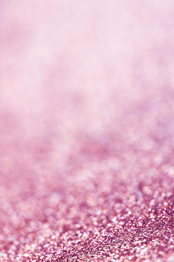 Fond abstrait de scintillement de Noël avec les lumières roses festive image libre de droits