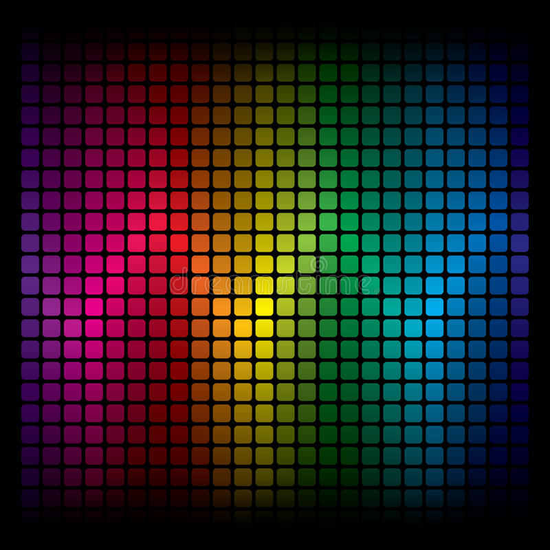 Fond abstrait de spectre illustration stock