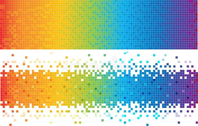 Fond abstrait de spectre illustration de vecteur