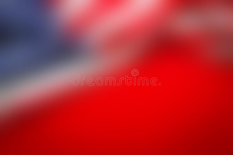 Fond abstrait de tache floue de drapeau américain photo stock