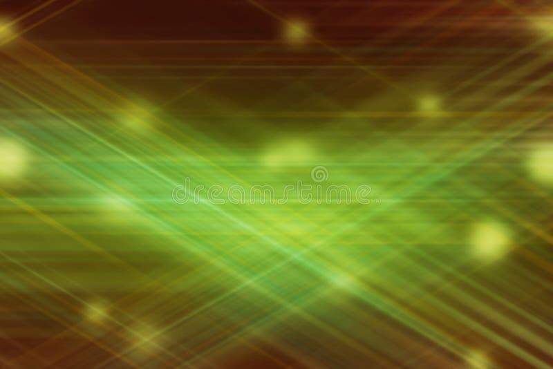 Fond abstrait de tache floue de mouvement Lignes rougeoyantes de la science fiction illustration de vecteur