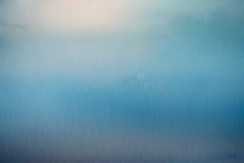Fond abstrait de tache floue, recouvrement de papier d'aquarelle image stock