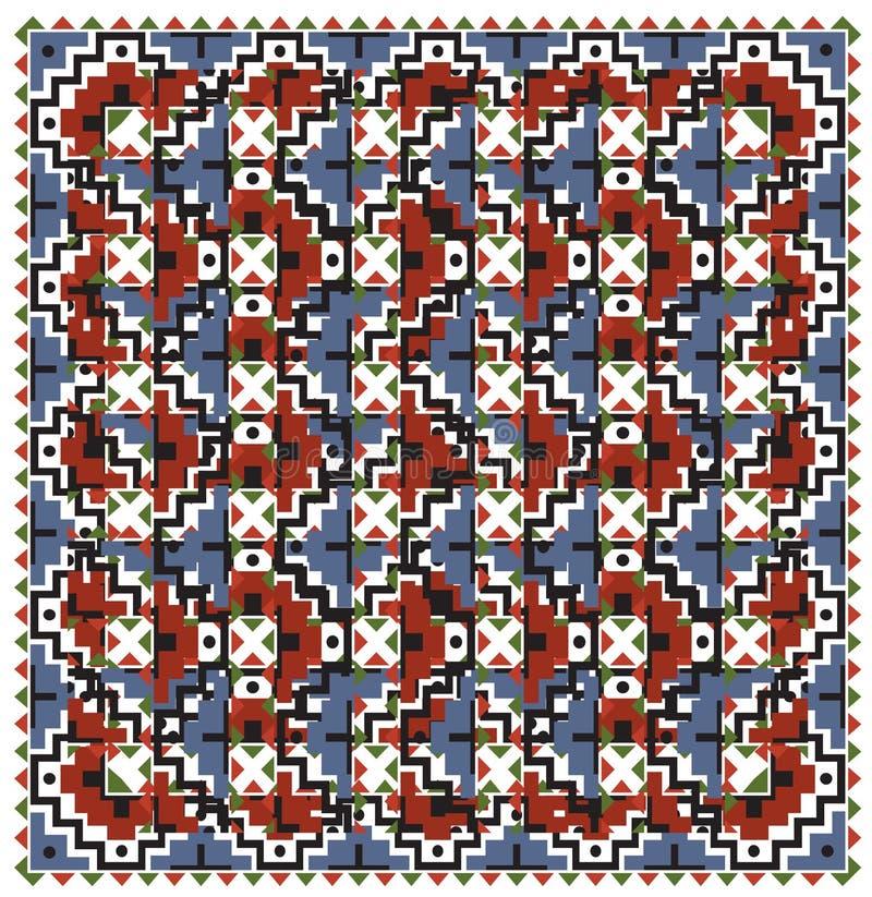 Fond abstrait de tapisserie illustration libre de droits