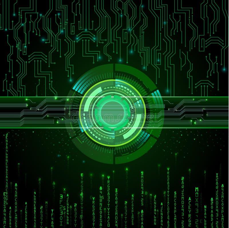 Fond abstrait de technologie illustration libre de droits
