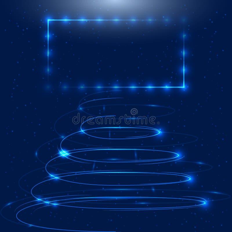 Fond abstrait de technologie image stock