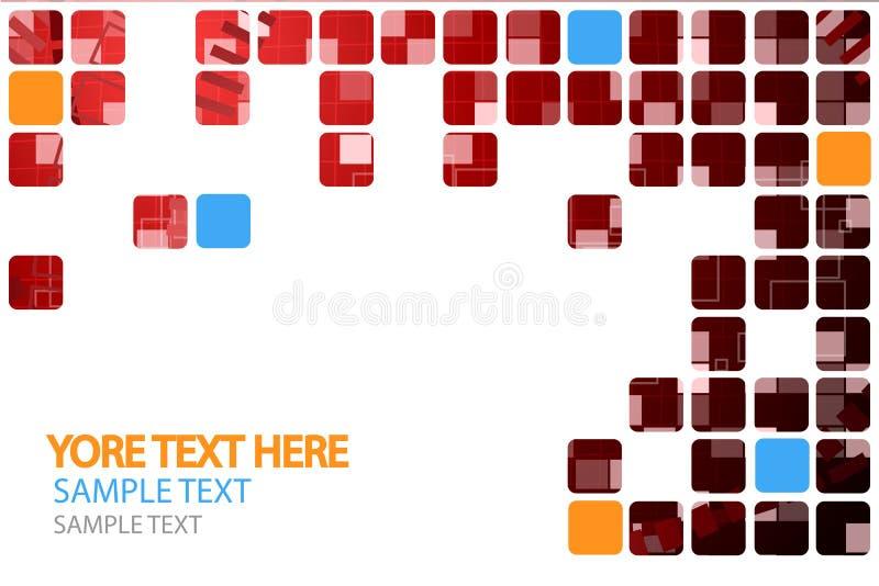 Fond abstrait de technologie avec la grille 7 images stock