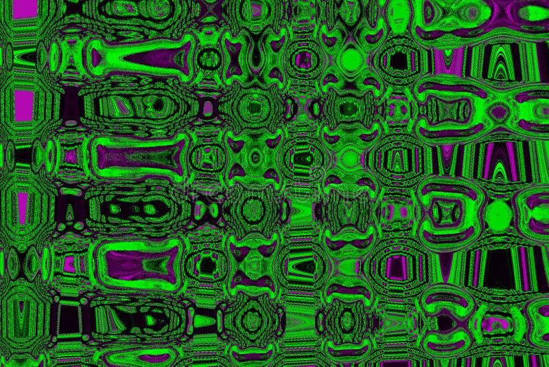 Fond abstrait de teintes vert magenta colorées image stock