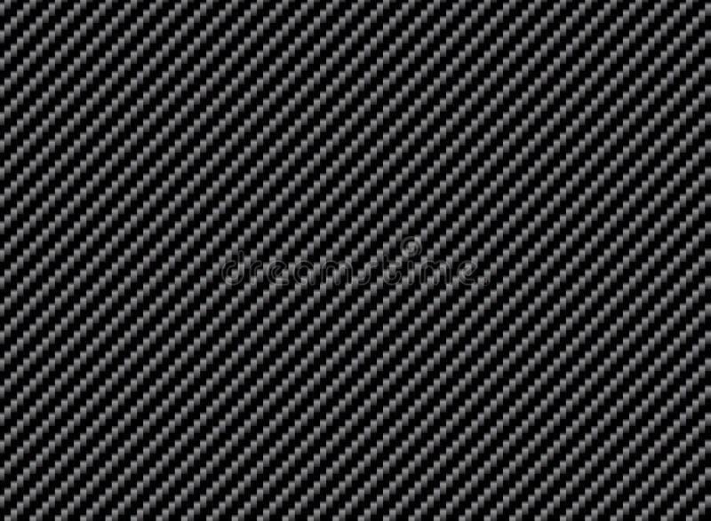 Fond abstrait de texture de fibre de carbone illustration de vecteur