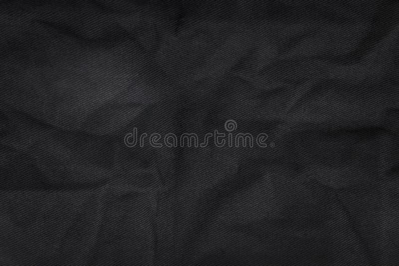 Fond abstrait de texture de tissu Matériel de textile chiffonné de toile image libre de droits