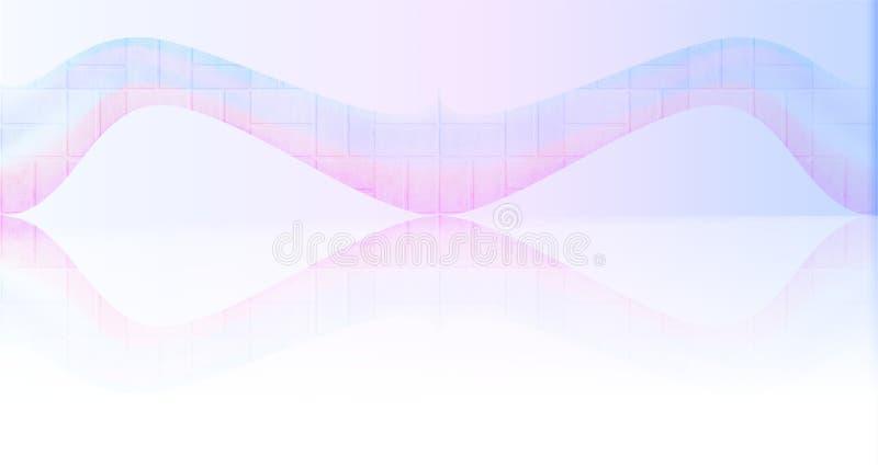 Fond abstrait de texture de vecteur avec l'effet en verre 013 illustration libre de droits