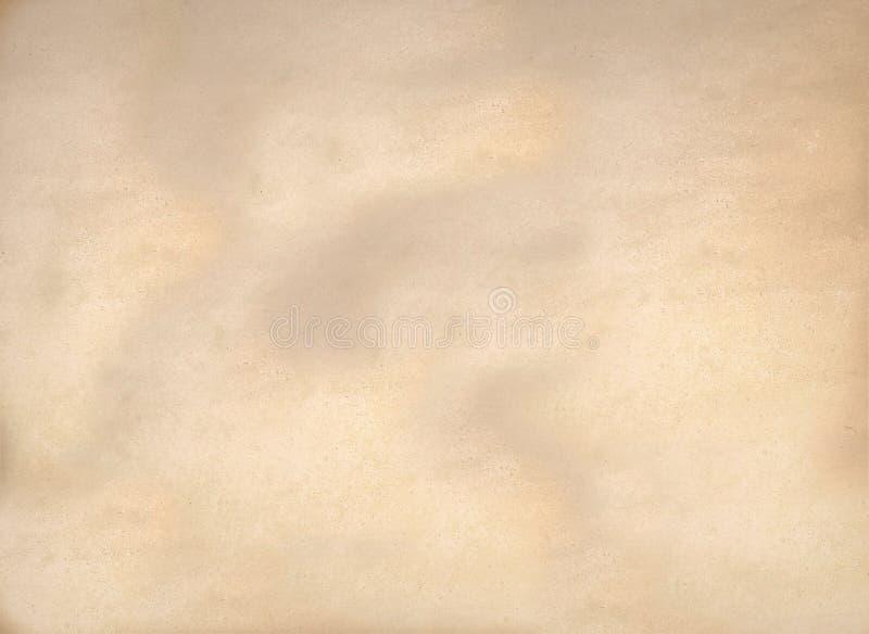 Fond abstrait de texture de vieille de détail surface grunge de papier jaune de modèle photographie stock