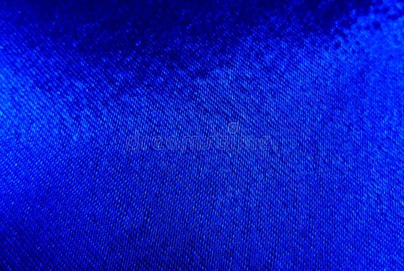 Fond abstrait de tissu de drapeau bleu photos stock