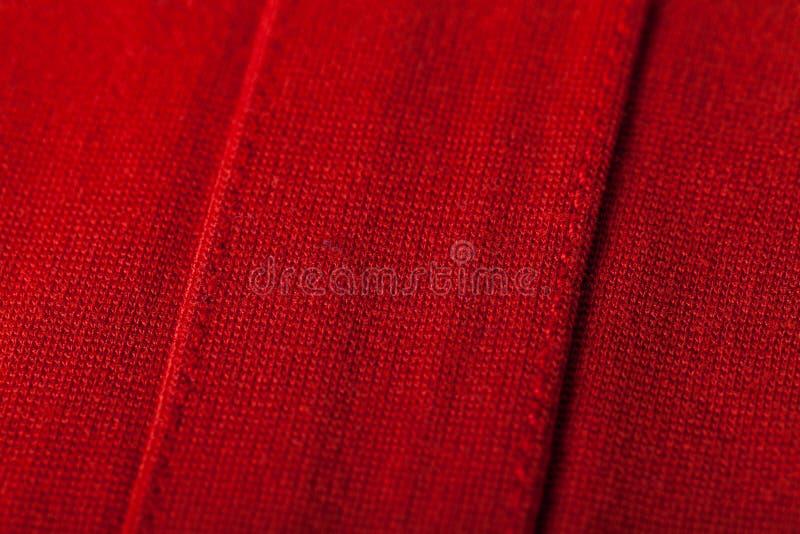 Fond abstrait de tissu rouge luxueux photo stock