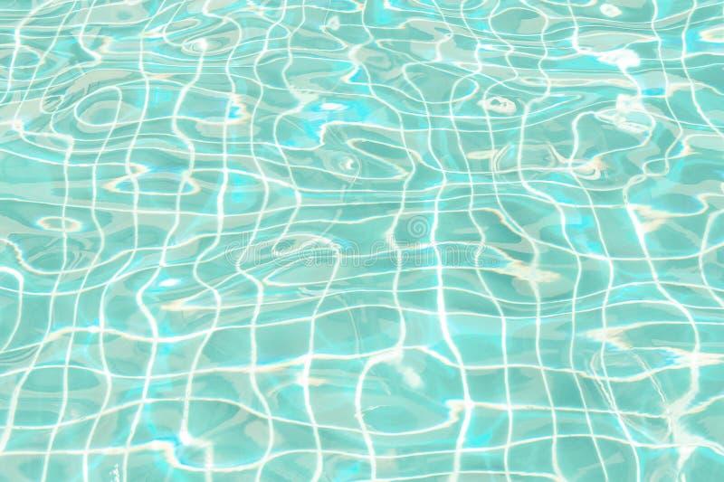 Fond abstrait de ton de couleur de vintage de dimension de piscine de vague d'eau image libre de droits