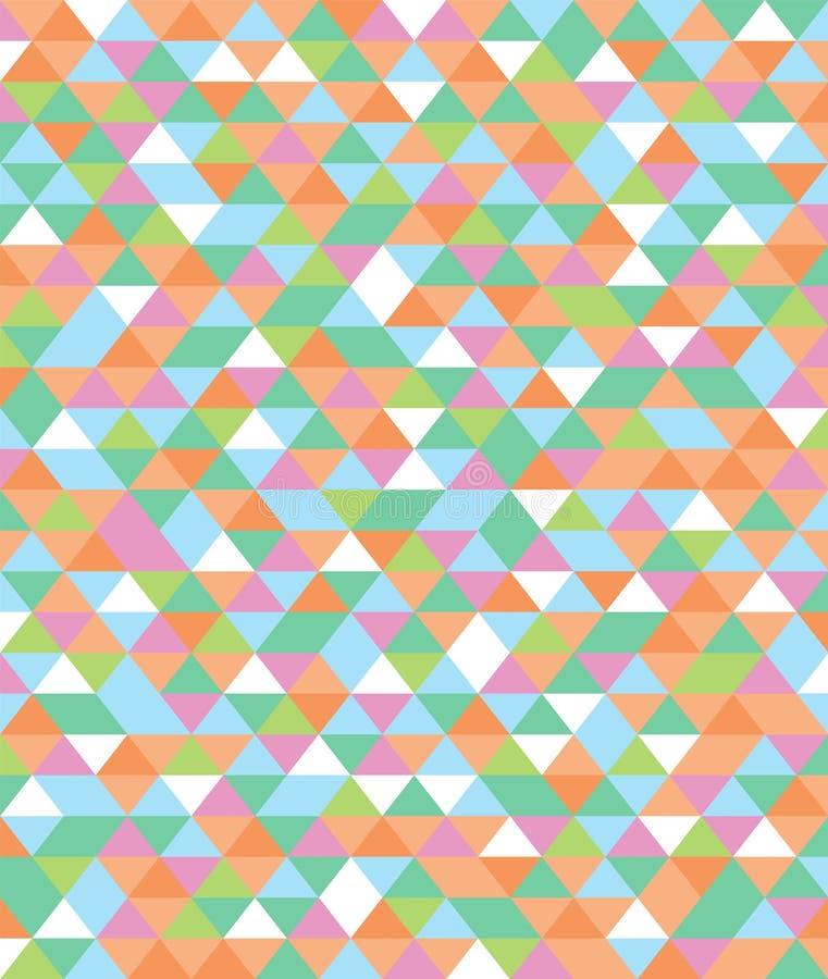 Fond abstrait de triangle illustration stock