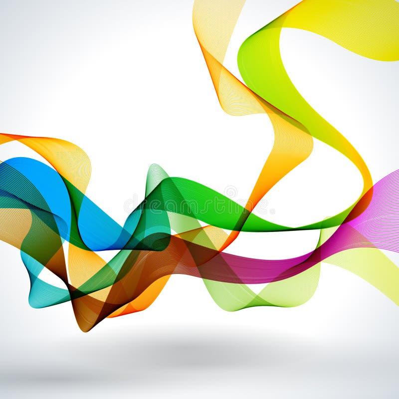 Fond abstrait de vecteur. image stock