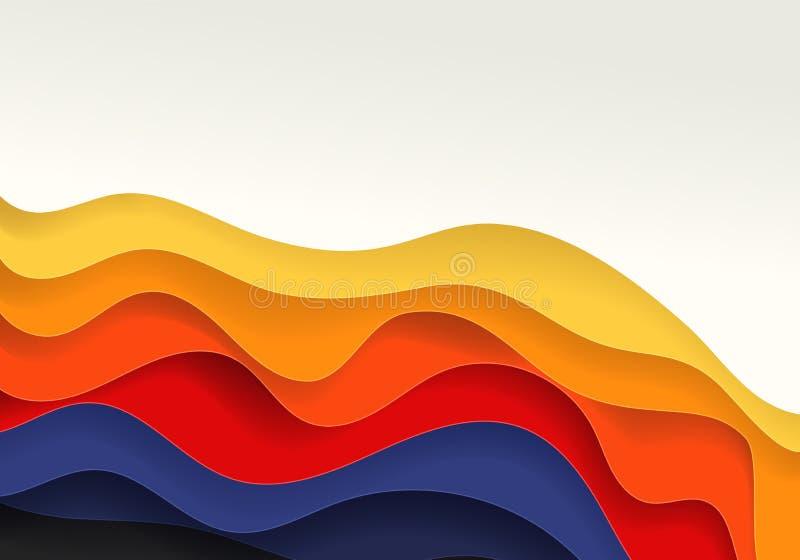 Fond abstrait de vecteur illustration stock