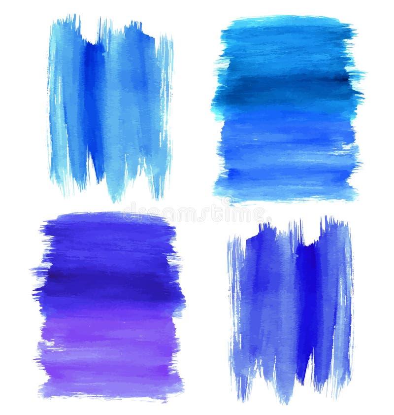 Fond abstrait de vecteur d'aquarelle Fond d'aquarelle illustration stock
