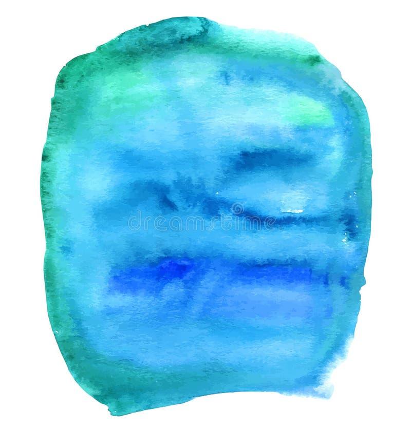 Fond abstrait de vecteur d'aquarelle Fond d'aquarelle pour des textures et des milieux illustration stock