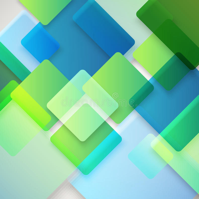 Fond abstrait de vecteur de différentes places de couleur illustration de vecteur