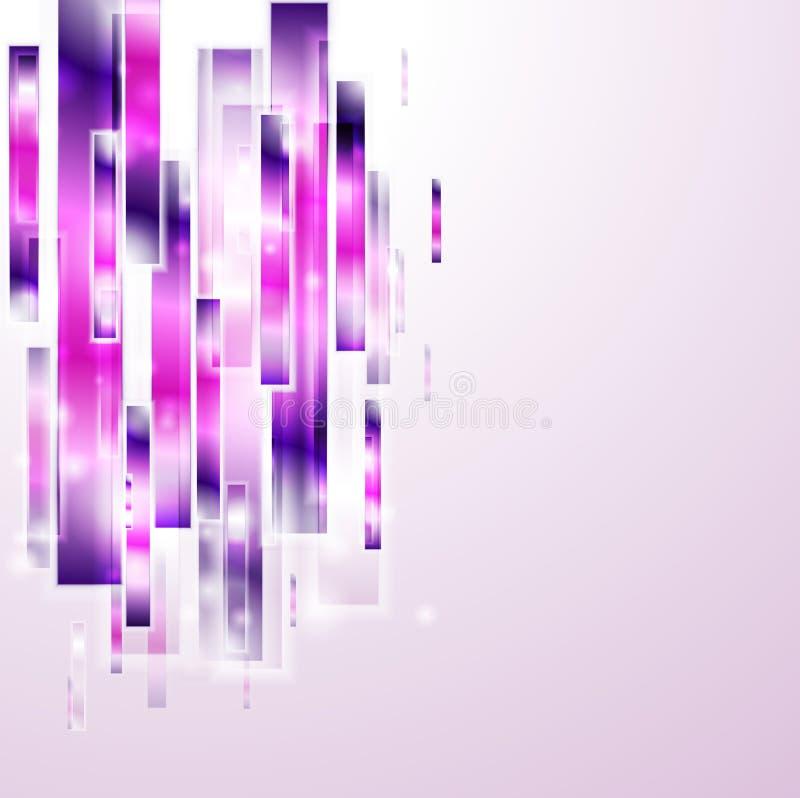 Fond abstrait de vecteur de technologie illustration libre de droits