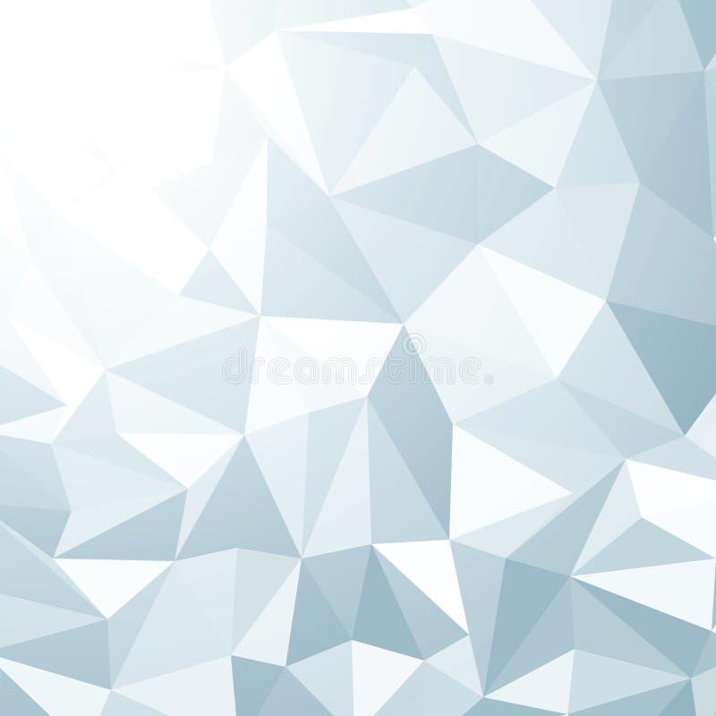 Fond abstrait de vecteur du fil 3d. ENV 8 illustration libre de droits