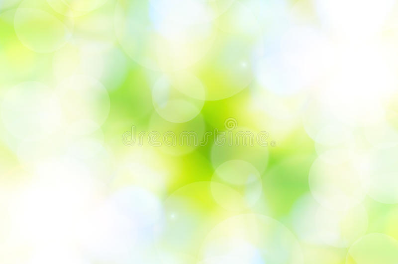 Fond abstrait de vert de source illustration stock