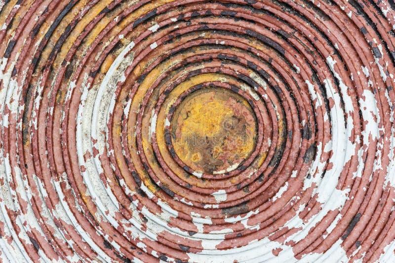 Fond abstrait de vieille texture de tuyauterie souple de vidange avec le grunge photo stock