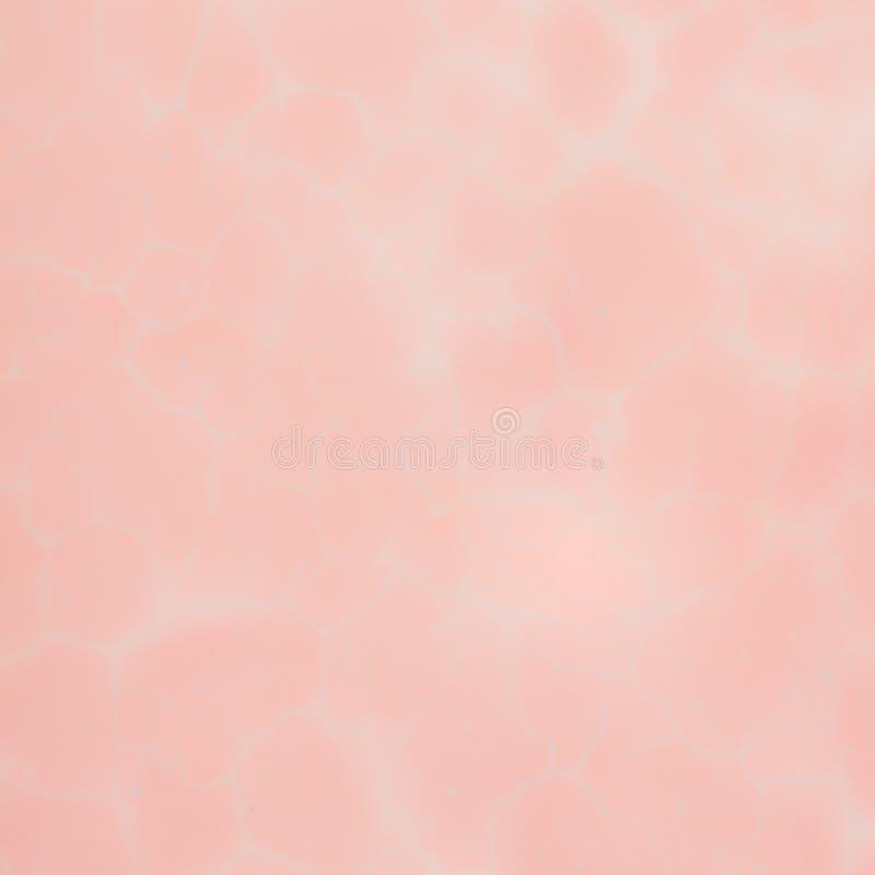 Fond abstrait de vintage, couleur rose lumineuse sur le mur criqué image libre de droits