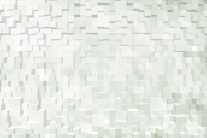 Fond abstrait des blocs 3d images stock